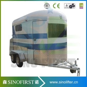 OEM China Horse Living Quarter Camper Trailer with Ce pictures & photos