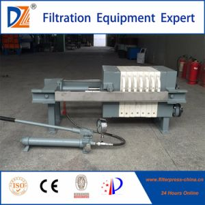 High Quality Dazhang Manual Dewatering Filter Press for Sale pictures & photos