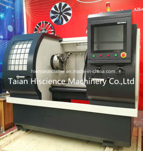 Low Cost Alloy Wheel Repair CNC Lathe Machine Awr2840PC pictures & photos