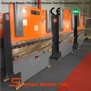 Wc67y-63t/3200 Hydraulic Steel Plate Bending Machine