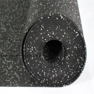 3-12mm Thickness Gym Sports Thin Rubber Matting Roll pictures & photos