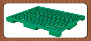 1200X1000X78mm Customized Grid Dampproof HDPE Plastic Storage Pallet for Warehouse pictures & photos