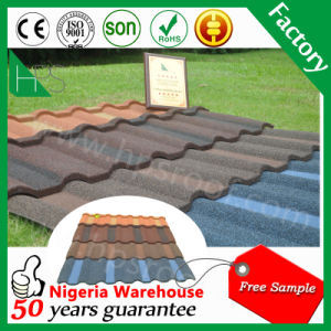 Sand Coated Metal Steel Roof Tile Building Material for House Hot Sale Ghana pictures & photos
