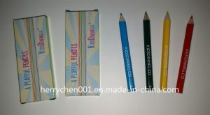 Half Size Color Pencil (SKY-025) pictures & photos