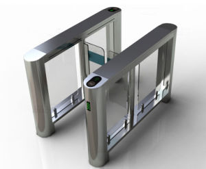Fast Biometric Controlled Speed Gate Turnstile Th-Sg305 pictures & photos