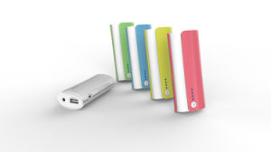 Power Indicator and LED Flashlight 3000mAh Fashionable Design Mobile Charger pictures & photos