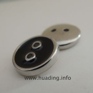 Two-Hole Sewing Button Without Logo (B466) pictures & photos