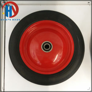 "16"" Solid Rubber Wheel for Trolley pictures & photos"
