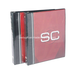 Customize Printing PVC 3-O Ring Binder File Folder pictures & photos