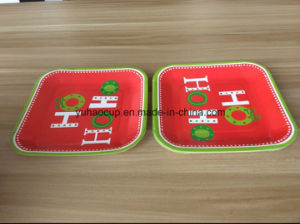 Coloful Disposable Paper Plate, Biodegradable Paper Plates pictures & photos