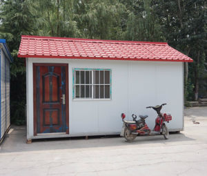 Fire Proof Low Cost Prefabricated House for Bedroom Kitchen Bathroom pictures & photos