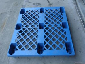 Durable Reversible Grid Plastic Packaging Pallet for Shelf Supplier pictures & photos