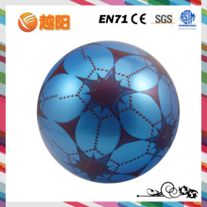PVC Inflatable Logo Printing Soft Ball Top Toys
