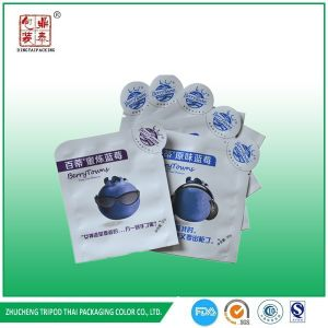 Cutom Printing Shaped Blueberry Packaging Bag