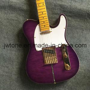 Vintage Tint Neck Purpleburst Quality Custom Tele Electric Guitar pictures & photos