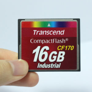 Transcend Compactflash CF170 Memory Card 16GB Industrial Flash Card pictures & photos