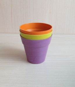 Recycled Bamboo Fiber Flower Pot (BC-F5002) pictures & photos