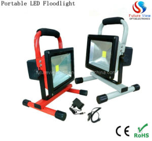 10W IP65 Portable Outdoor LED Flood Light (FV-FLR-10W)