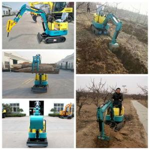 China Super Mini Digger Crawler Excavator 0.8 Ton Farm Excavator Xn08 pictures & photos
