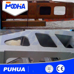 Q69 Roller Conveyor Steel Wheel Shot Blasting Machine pictures & photos