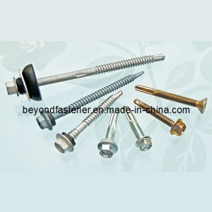 Coating Screw Roofing Screw No 5 Point Timber Screw pictures & photos