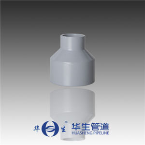 Huasheng Plastic SGS Qualified Dn 125*40-400*350 CPVC DIN Standard Reducer pictures & photos
