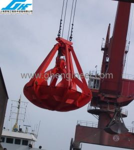 30t Four Ropes Orange Peel Grab (GHE-FROP-110) pictures & photos