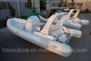 25feet 7.6m Inflatable Rib Boat, Rescure Boat, Fishing Boat, Rigid Hull Boat, PVC and Hypalon pictures & photos