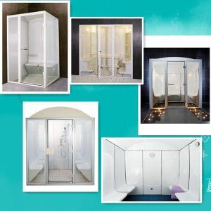 Fenlin Acrylic Material Glass Door Wet Steam Room pictures & photos