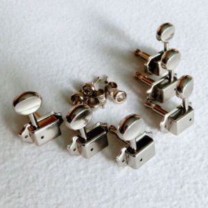 Nickel 3+3 Vintage Guitar Machine Head with Slot End Peg pictures & photos