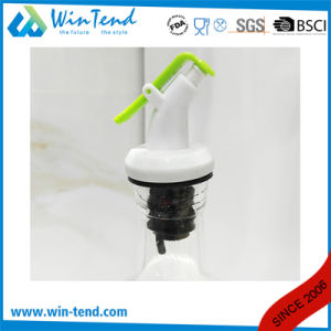 Wholesale Commercial Hotel Restaurant Buffet Glass Oil and Vinegar Set with Lid pictures & photos