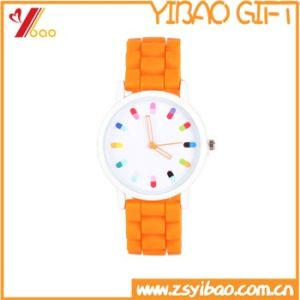 High Quality Customized Logo Silicone Wristband (YB-W-08) pictures & photos