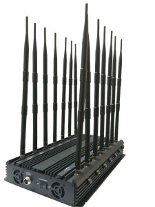 Omni Directional Antenna 35W Powerful 3G 4G Wimax Mobilephone Scrambler, New Stationary GPS Signal Jammer/Blocker with 14 Antenna GPS WiFi VHF UHF 4G 315 433 pictures & photos