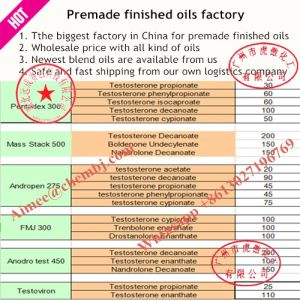 Drostanolone Propionate Injection 100 Mg/Ml Masteron CAS 521-12-0 pictures & photos