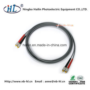 Low Insertion Loss D4/mm Fiber Optic Patch Cord Cable pictures & photos
