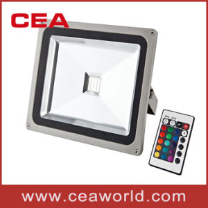 10W RGB LED Flood Light with Remote Controller (LFL5-10) pictures & photos