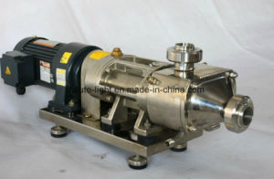 Sanitary Stainless Steel Twin Screw Pump pictures & photos