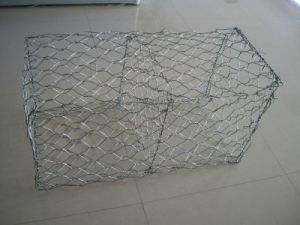 Gabion Mesh / Galvanized Gabion Box / PVC Coated Gabion Basket with High Quality pictures & photos