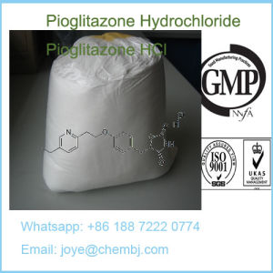 99% Pharmaceutical Material Pioglitazone Hydrochloride/Pioglitazone HCl CAS112529-15-4 pictures & photos