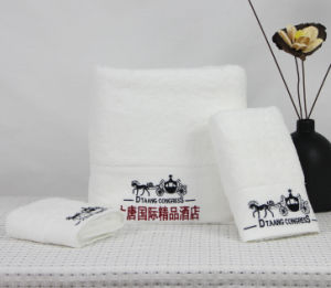 Promotional Hotel / Home Cotton Face / Bath / Hand Towel pictures & photos