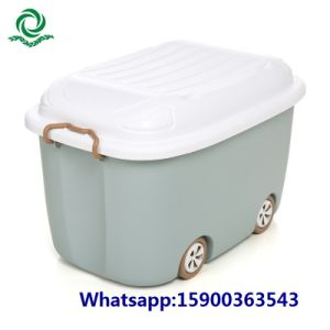 Food Grade Children′s Plastic Toy Storage Box Clothes Locker pictures & photos