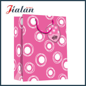 Laminated Customize Logo Printed Wholesales Cheap Cosmetic Paper Shopping Bag pictures & photos