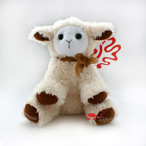 Plush Advertising Gift Sheep Mascot pictures & photos
