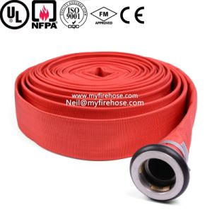 Ageing Resistance Cotton Canvas Fire Water Hose pictures & photos