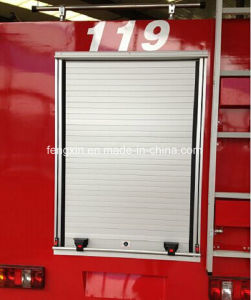Aluminum Roller Shutter for Fire Protection Vehicles pictures & photos