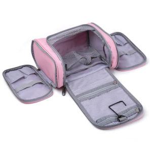 Fashion Pink Girls Wash Women Custom Travel Hanging Toiletry Bag pictures & photos
