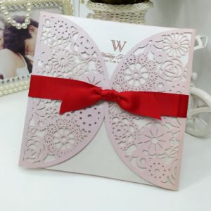 Fancy Luxury Wedding Cards Custom Greeting Cards Printing pictures & photos