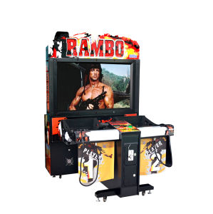 Rambo Coin Operated Arcade / Video Shooting Equipment/ Arcade Shooting Game Machines pictures & photos