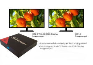 4K RAM 2g and ROM 16g IPTV TV Box pictures & photos