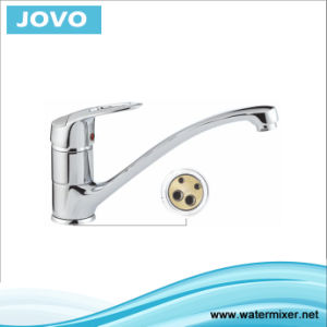 Sanitary Ware Nice Design Single Handle Kitchen Mixer&Faucet Jv72805 pictures & photos